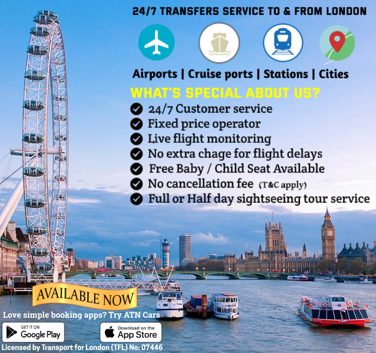 Faraday SE1 to Heathrow Airport  Taxis