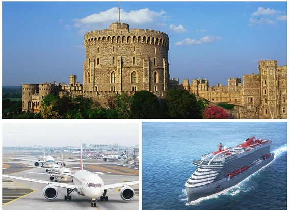 Heathrow Airport to Southampton Cruise Port