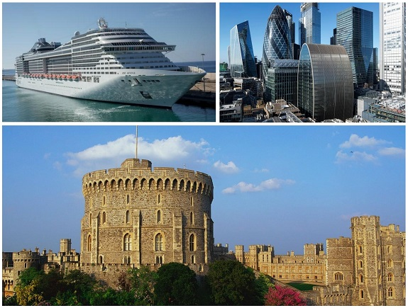 Southampton Cruise Port to London Via Windsor Castle